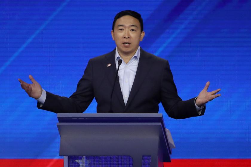 Why Andrew Yang thinks candidates of color have been shut out of the Democratic debates