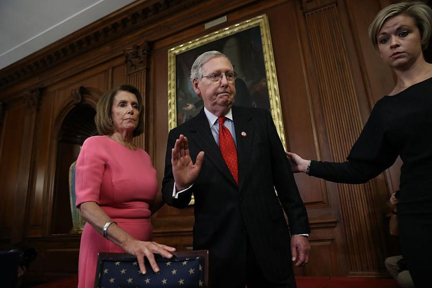 McConnell tells Pelosi she can go right ahead and hold onto impeachment papers amid impasse