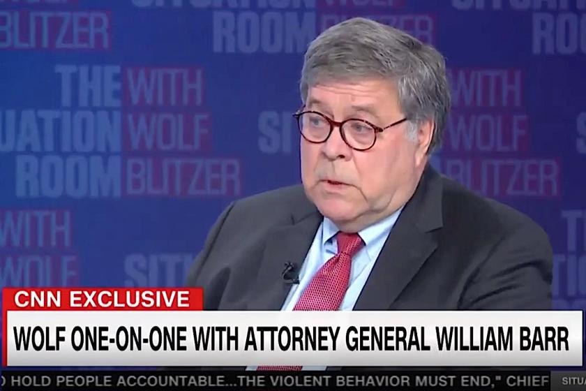Attorney General Barr wont agree its illegal to vote twice, as Trump urged, claims ignorance of state laws