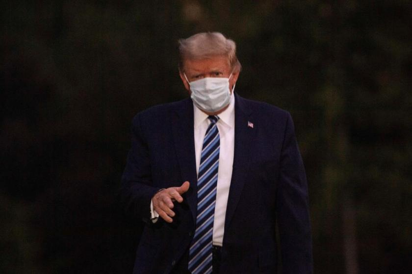 Coronavirus concerns may have kept Trump from meeting newly-elected GOP lawmakers in person at White House