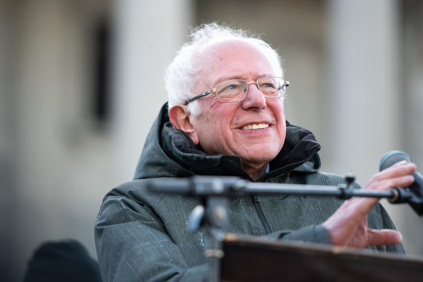 Bernie Sanders now has a dramatic lead in New Hampshire, new poll shows