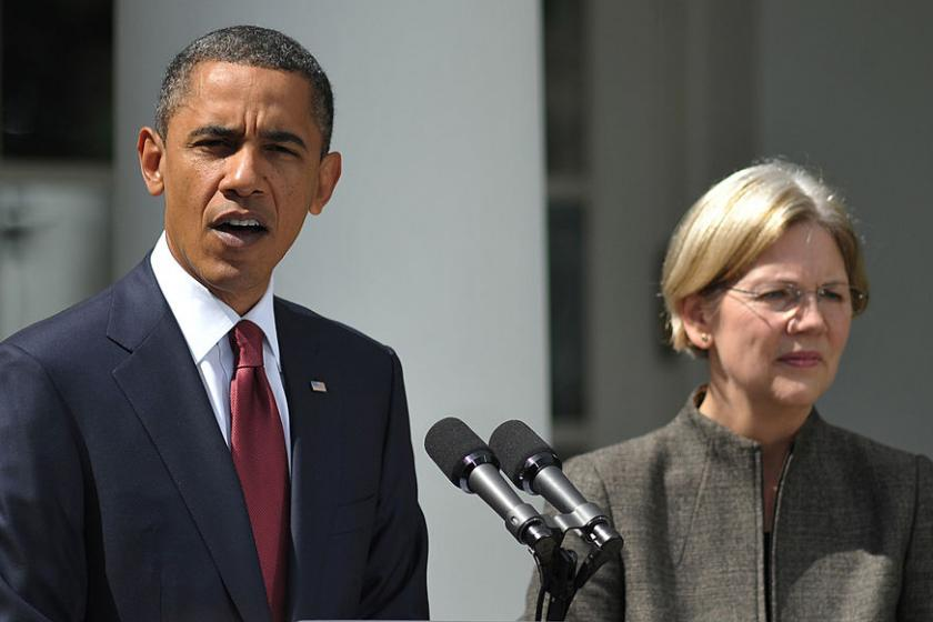 Obama has reportedly gone to bat for Elizabeth Warren to reluctant wealthy donors