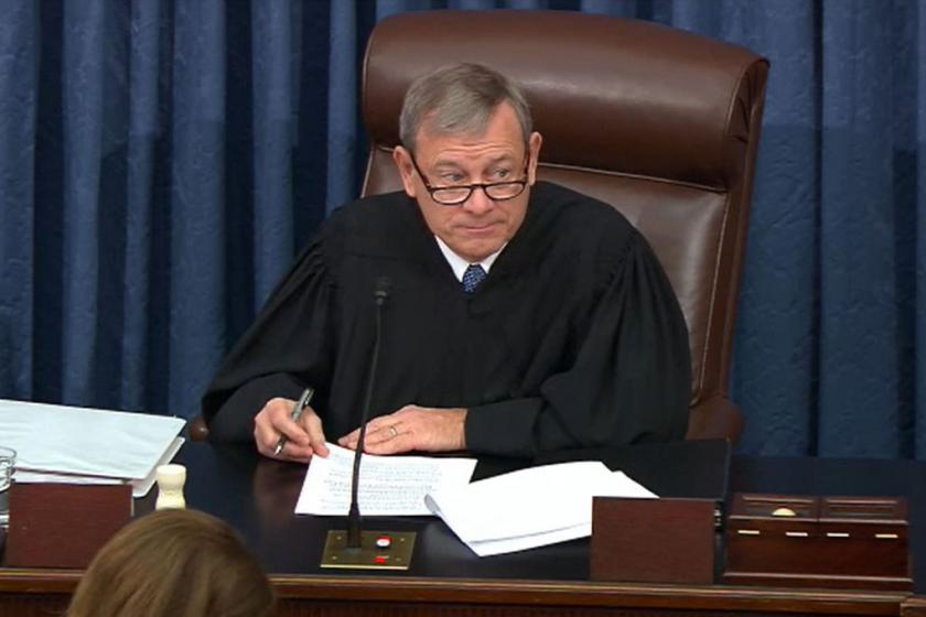 Chief Justice Roberts admonishes impeachment managers and Trump team, reminds them to remember where they are