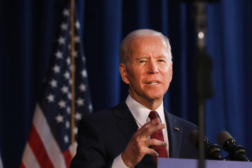Joe Biden holds a commanding lead among black voters, new poll shows