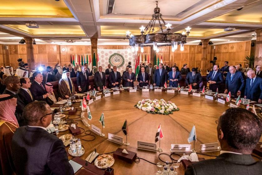 Arab League rejects Trump administrations Middle East peace plan