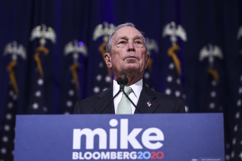 Michael Bloomberg will reportedly fund his campaign through November — even if its helping another nominee