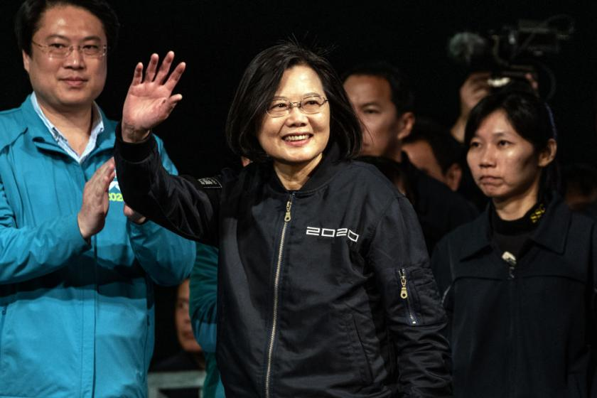 Taiwan deals blow to China in crucial presidential election