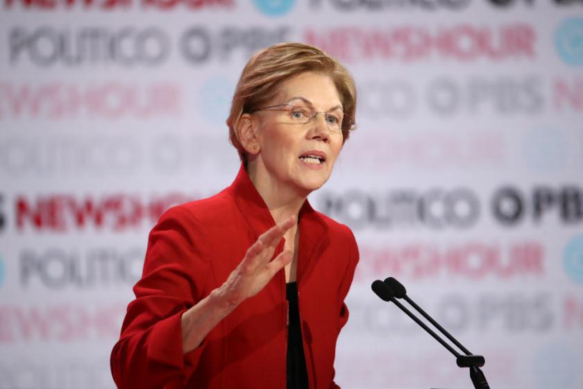 Elizabeth Warren: I never wash my face