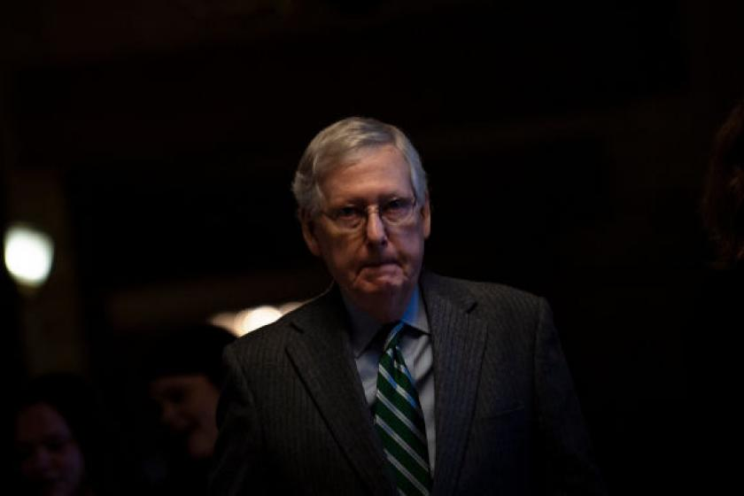 Under McConnells rules, Trumps impeachment trial could last well past midnight or end immediately