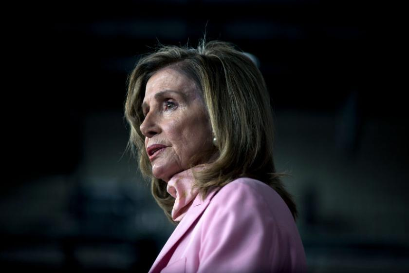 Nancy Pelosi got her hair done in San Francisco, and the salon owner is mad