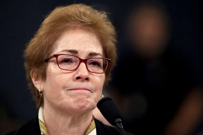 Ex-Ukraine ambassador at center of impeachment inquiry reportedly retires from State Department