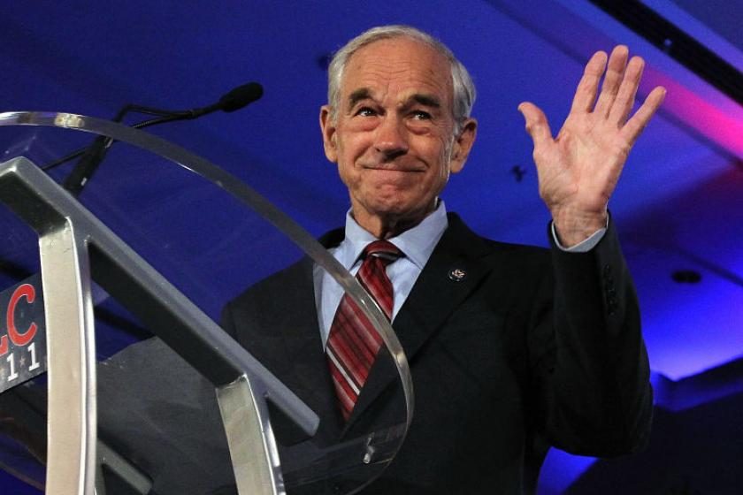Ron Paul hospitalized after apparently suffering medical emergency during livestream