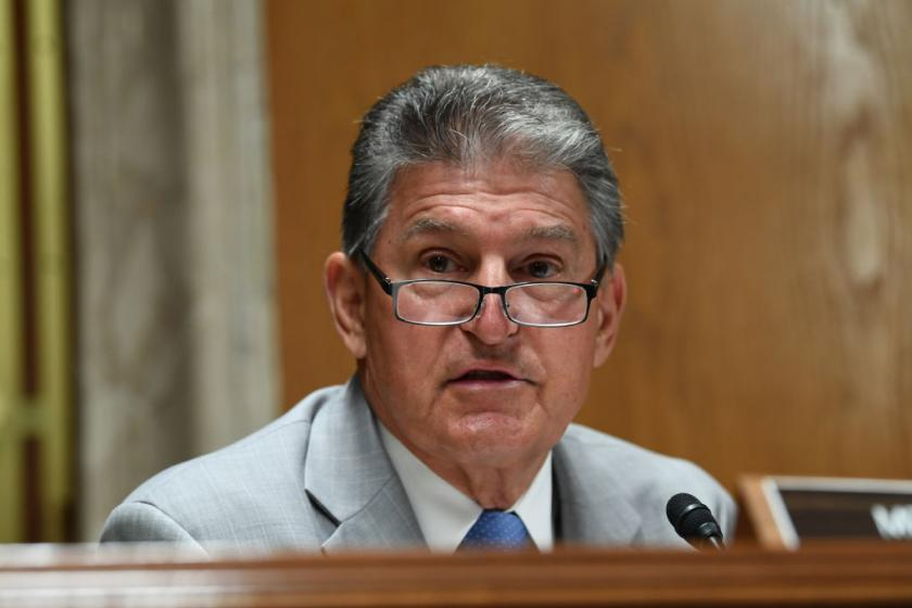 Democratic Sen. Joe Manchin backs Supreme Court delay tactics since we dont do anything around here anyway