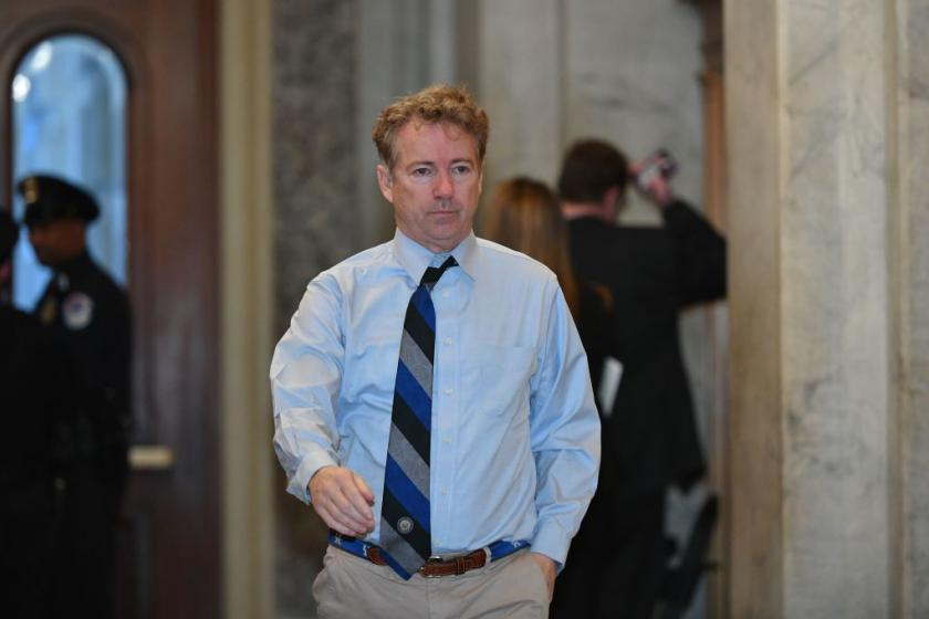 Roberts reportedly blocked Rand Pauls questions mentioning alleged whistleblowers name