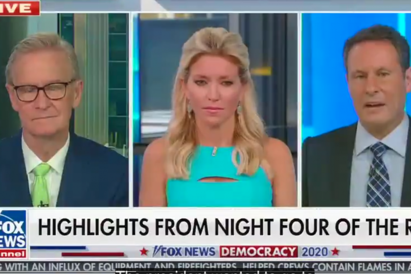 Brian Kilmeade wonders why Biden can campaign from his house but not the president