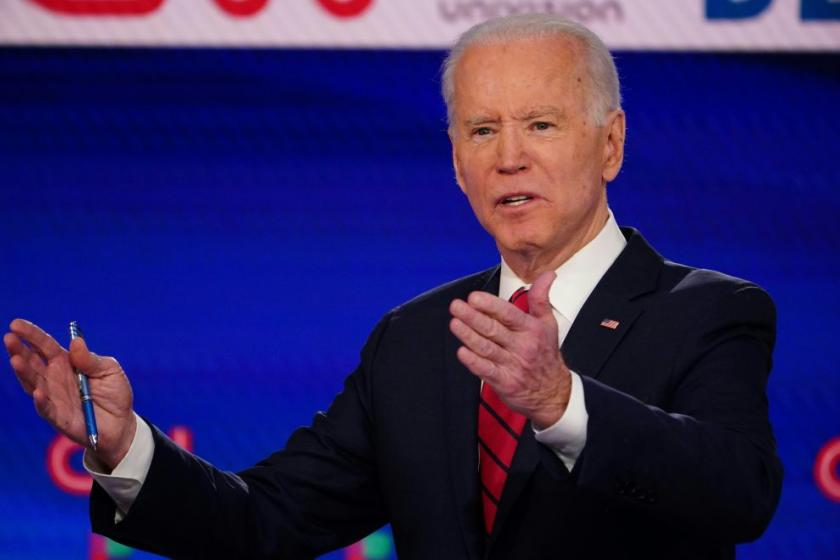 Democrats are divided over how Joe Biden should react to Trump amid pandemic