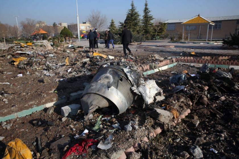 Iran deeply regrets shooting down Ukrainian plane, but partially blames U.S. adventurism