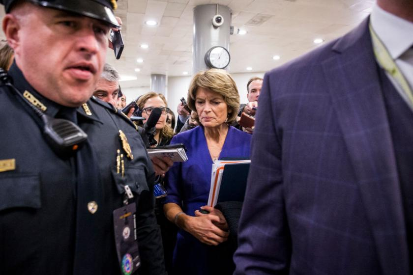 Lisa Murkowski to vote no on new witnesses: There will be no fair trial in the Senate