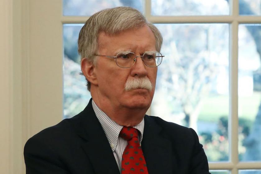 Bolton reportedly writes Trump asked him to help pressure Ukraine in May meeting with Cipollone