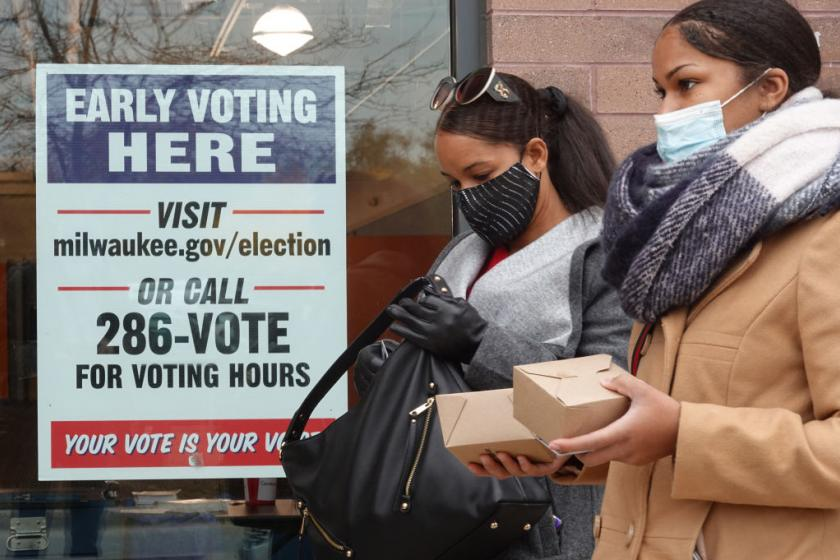 More than 47 million ballots have already been cast in the presidential election