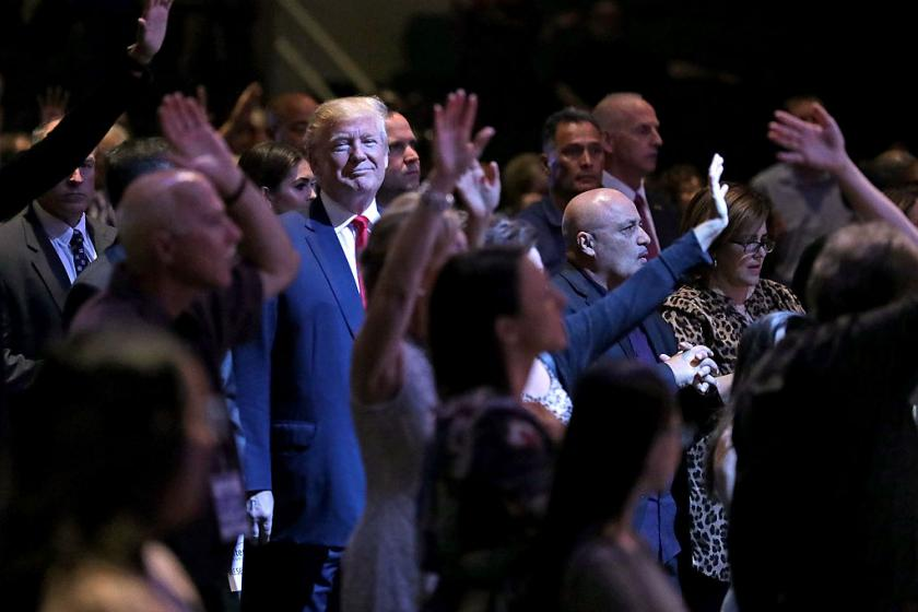 Trump didnt cause the generational split among evangelicals. But Christianity Today exposed its depth