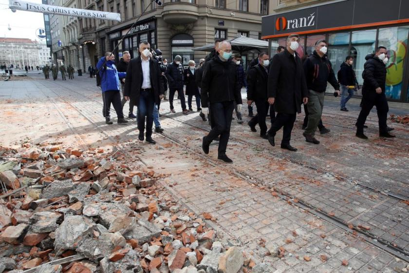 Powerful earthquake puts Croatia in a coronavirus conundrum