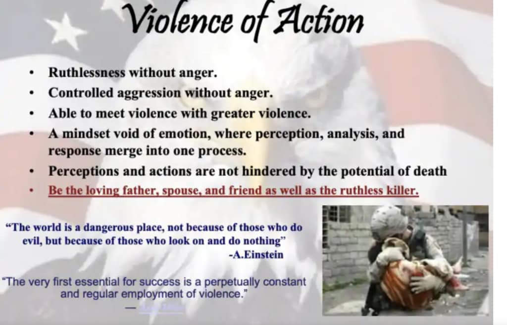 Kentucky police training program quoted Hitler, advocated 'regular employment of violence'