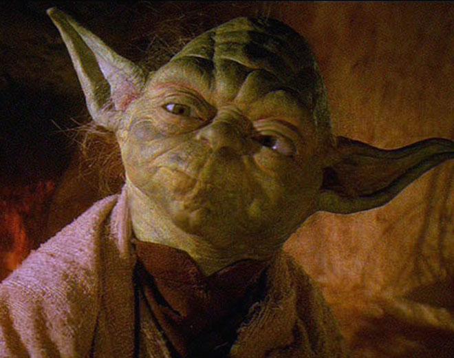 Yoda. | Lucasfilm Ltd.