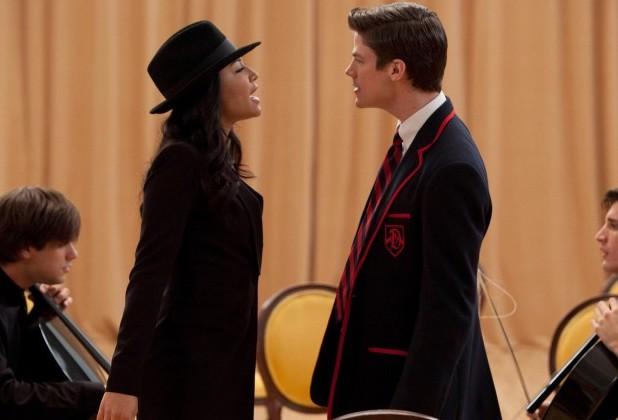 Glee Alum Grant Gustin Recalls Being Intimidated By Naya Riveras Talent