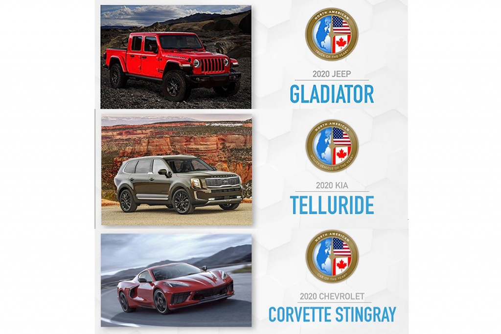 2020-chevrolet-corvette-stingray-kia-telluride-jeep-gladiator