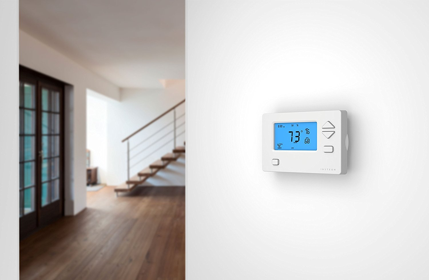 Prime Day surprise: Get an Alexa and Google enabled smart thermostat for only $46!