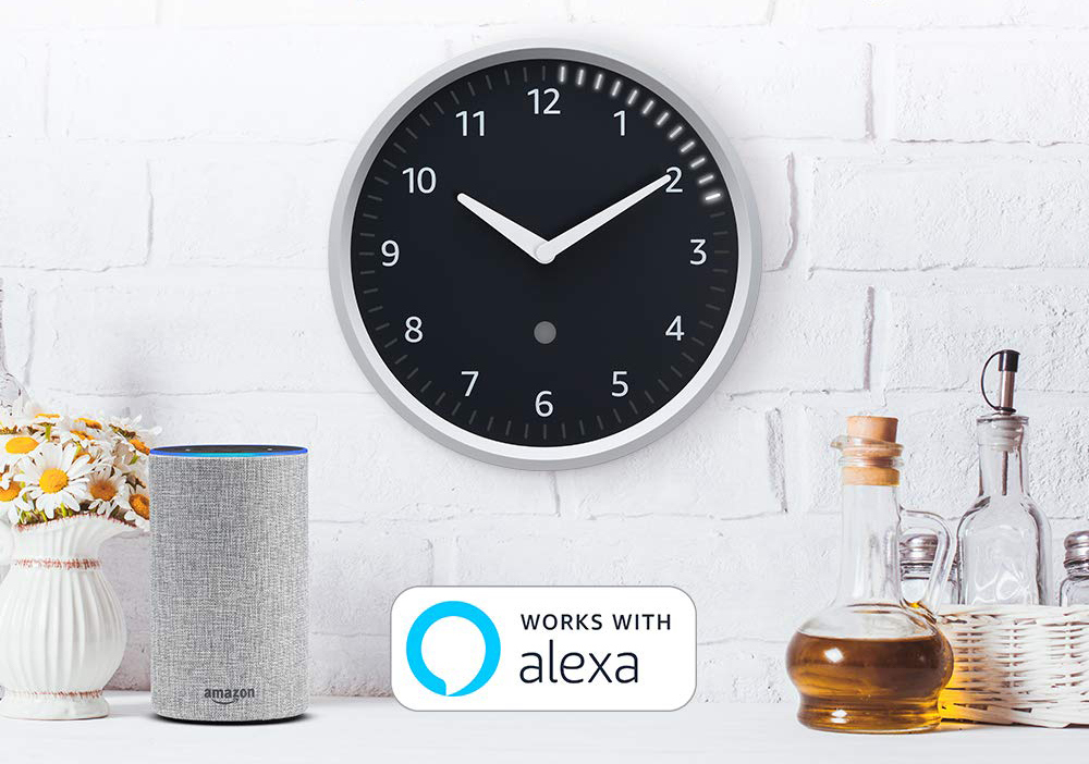 This Amazon Echo Wall Clock is way more than meets the eye, and it's on sale right now