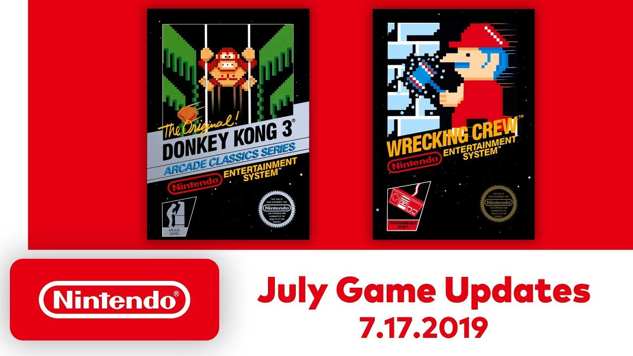Every free NES game added to Nintendo Switch Online in July 2019