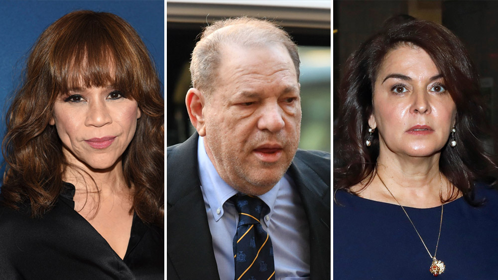 Rosie Perez Testifies at Harvey Weinstein Trial to Bolster Annabella Sciorra's Rape Allegation