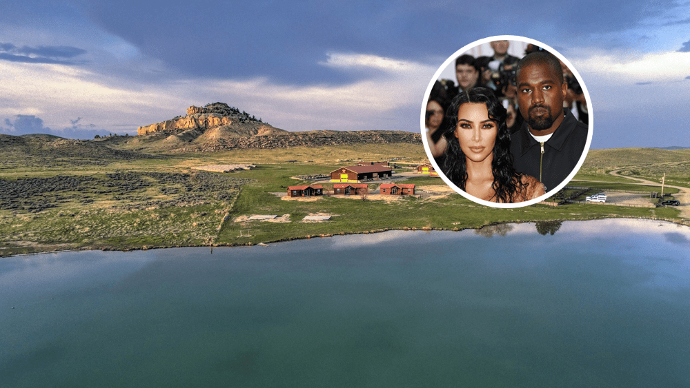 Kanye West, Kim Kardashian Reportedly Buy Enormous Wyoming Ranch