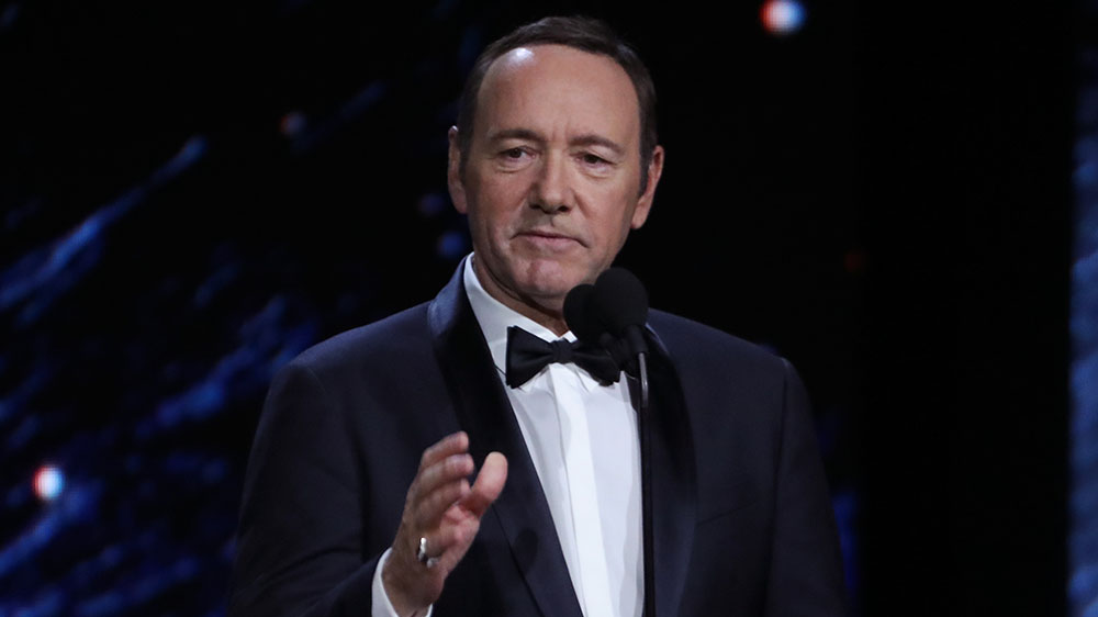 Kevin Spacey Won't Be Charged in Sexual Assault Case After Accuser Dies