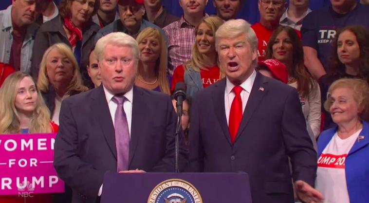 Alec Baldwin, Darrell Hammond Reprise Presidential Roles on 'Saturday Night Live' (Watch)