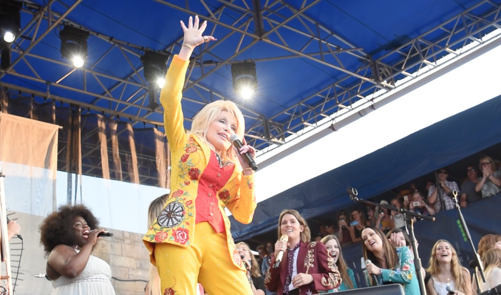 Dolly Parton Joins Brandi Carlile's All-Star, All-Women Blowout at Newport (Watch)