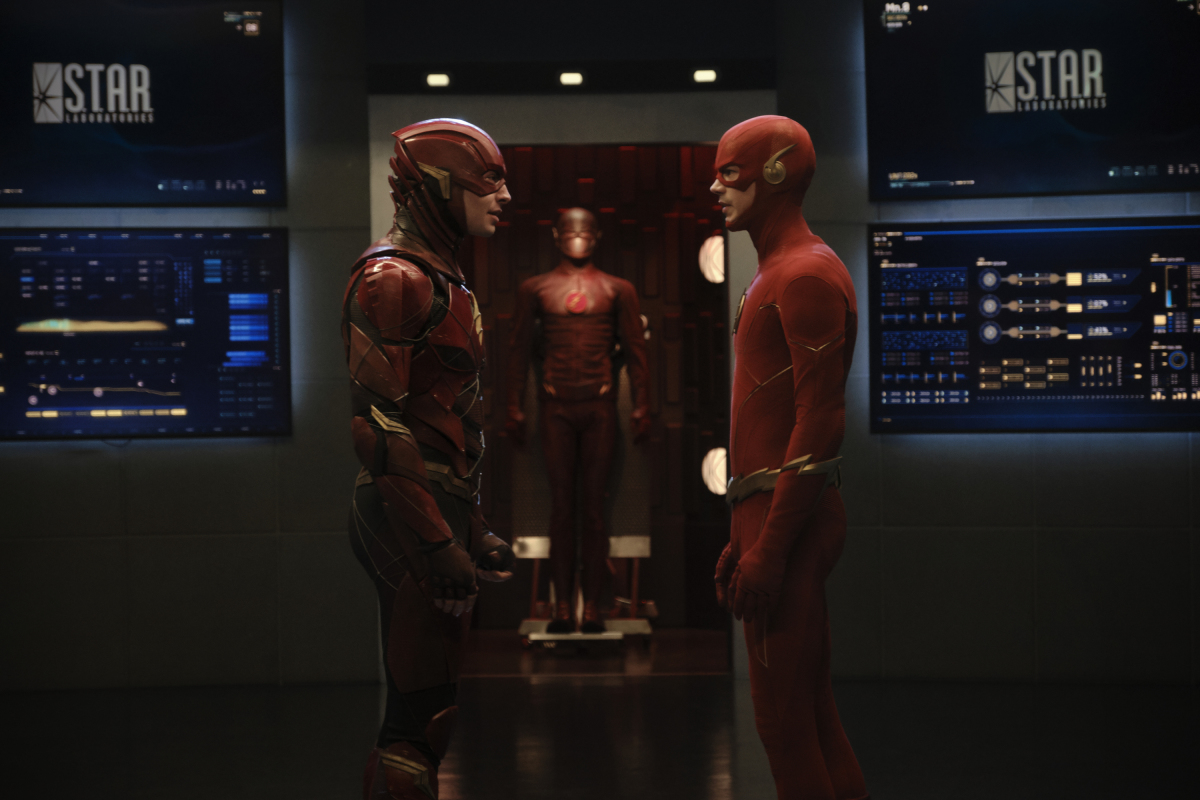 How 'Crisis on Infinite Earths' Pulled Off Its Ezra Miller Cameo