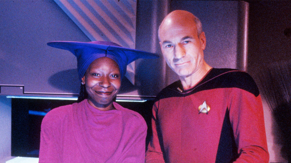 Patrick Stewart Invites Whoopi Goldberg to Join 'Star Trek: Picard' Season 2