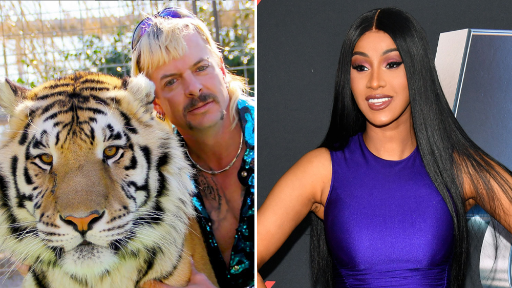 Cardi B Pledges to Start a GoFundMe for Joe Exotic From Netflix's 'Tiger King'