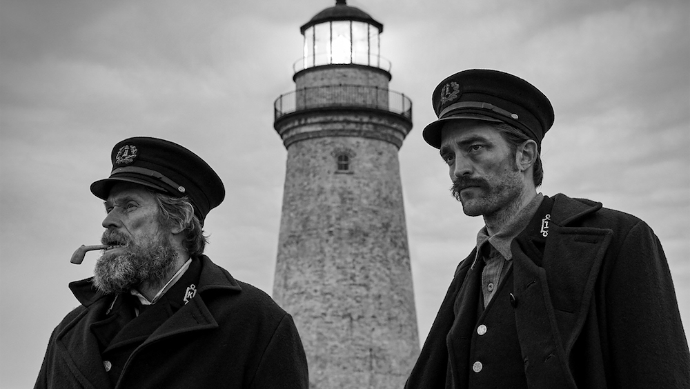 Willem Dafoe and Robert Pattinson Lose Their Sanity in 'The Lighthouse' Trailer