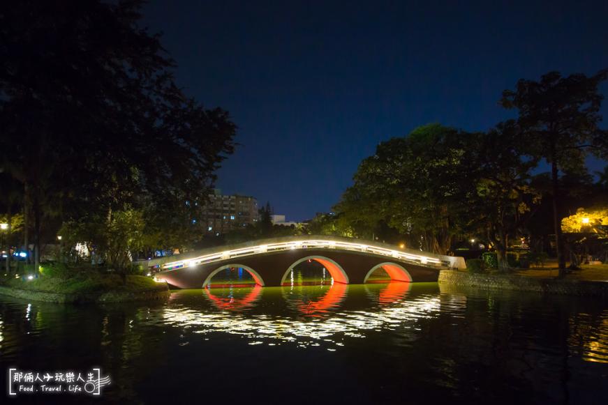 台中公園夜景