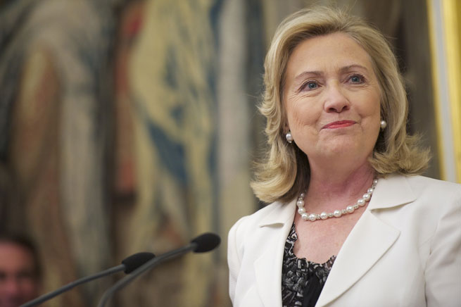 Hillary clinton without makeup