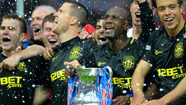 FA Cup - Watson winner hands unfancied Wigan FA Cup final glory against City