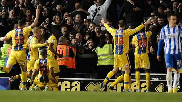 Championship - Zaha double sends Palace into play-off final with win at Brighton