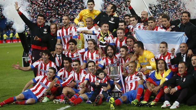 Liga - Ronaldo and Mourinho see red as Atletico stun Real Madrid to win Copa