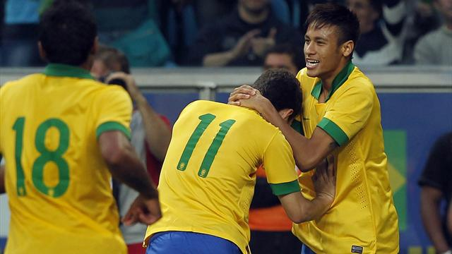 International friendlies - Oscar on target as Brazil beat France