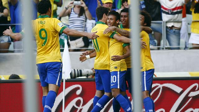 Confederations Cup - Neymar inspires Brazil to win over Mexico
