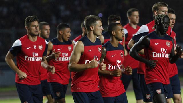 Premier League - Arsenal hit seven in Jakarta